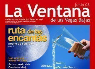 Portada de la revista La Ventana de las Vegas Bajas de junio de 2008
