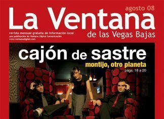 Portada de la revista La Ventana de las Vegas Bajas de gosto de 2008
