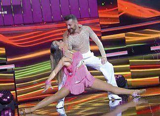 Jesús y Sandra en la semifinal de Tú sí que sí