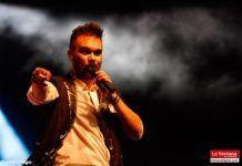 José Antonio Moreno triunfa con su grupo Bandcover en la feria montijana