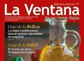 Portada de la revista La Ventana de la Vegas Bajas de febrero-marzo de 2017, Dieta mediterránea