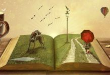 Ilustración libro de cuentos