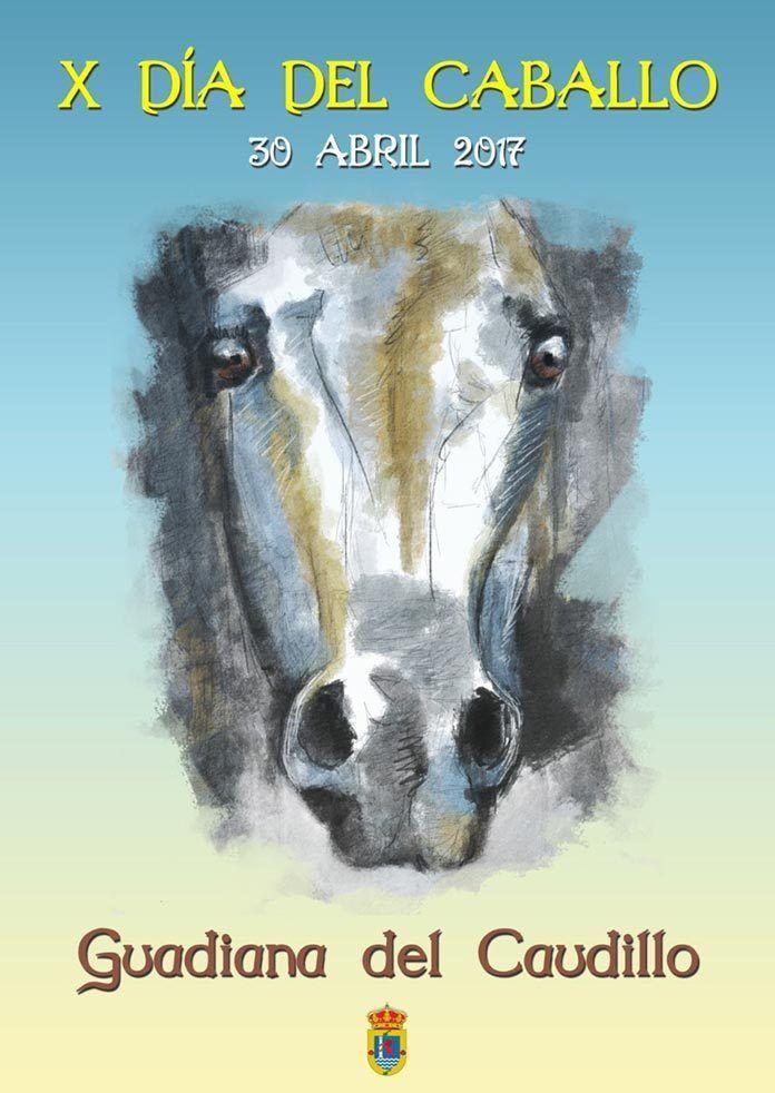 Cartel Día del Caballo en Guadiana del Caudillo