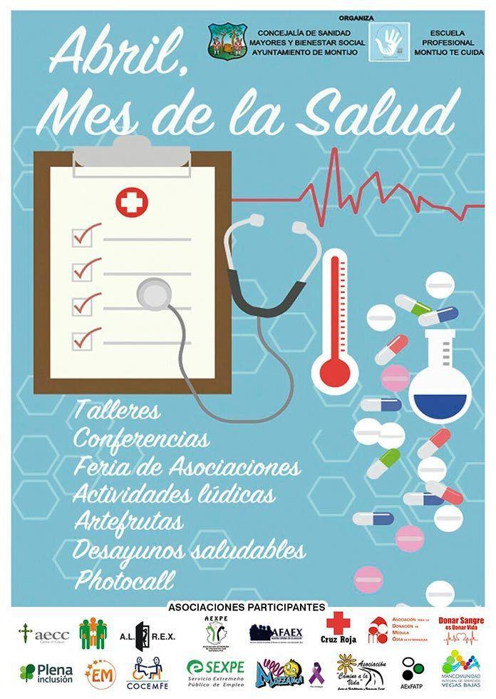 Cartel de la Feria de Asociaciones de la Salud