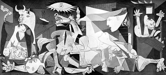 Guernica, Picasso, 1937.