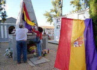 Homenaje a los fusilados en Montijo