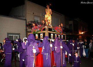 Procesión del Amarrado en Puebla de la Calzada