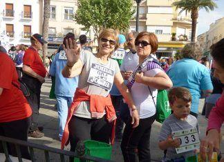 Participantes en la II Carrera por la Inclusión de las Personas con Discapacidad