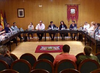 Pleno de abril de 2017 del Ayuntamiento de Montijo