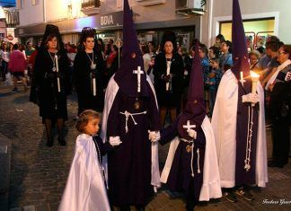 Procesiones del Santo Entierro y La Soledad en Puebla de la Calzada