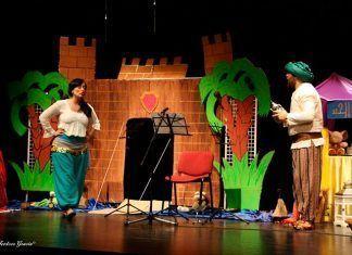 """""""Aladino y la lámpara ruidosa"""", concierto didáctico en Puebla de la Calzada"""