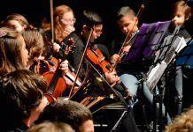 Alumnos del Conservatorio Profesional de Música de Montijo