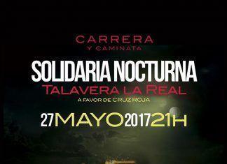 Cartel Carrera Nocturna Talavera la Real 2017