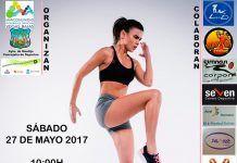 Cartel del XVIII Maratón de Aeróbic en Montijo