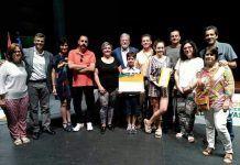 Antonio Pizarro y Manuel Nieto reciben de manos de Juan Carlos Rodríguez Ibarra el Premio Tomás García Verdejo a las Buenas Prácticas Educativas