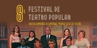 Cartel 8º Festiva de Teatro Popular