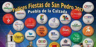 Felices Fiestas de San Pedro 2017, Puebla de la Calzada