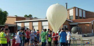 Lanzamiento de la sonda VegaSky desde el IESZ Vegas Bajas de Montijo