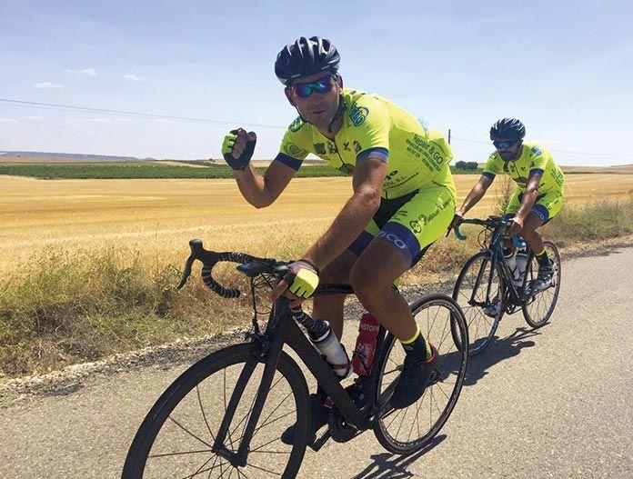 Luís Ignacio Barril Iglesias y David Pascual Piñero, en ruta