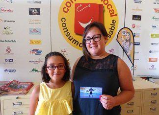 Maria Teresa Romero Flecha, de Montijo, ganadora de una entrada para el concierto de Demarco en Puebla de la Calzada, sorteadas por VentanaDigital.com