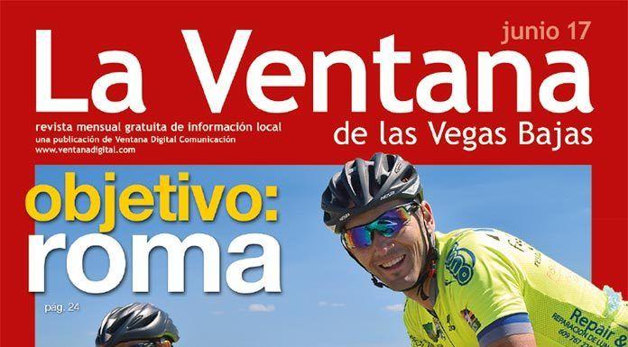Portada de la revista La Ventana de junio de 2017