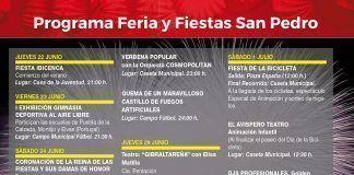 Programa de feria San Pedro 2017