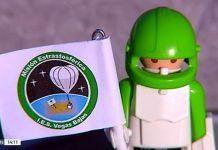 Tripulante de la sonda estratosférica del IES Extremadura de Montijo