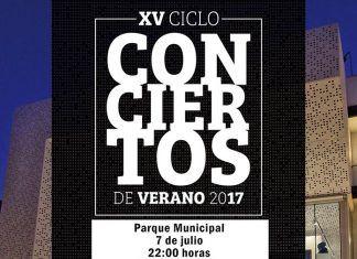 Cartel del concierto de Gecko Turner en Puebla de la Calzada