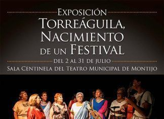 Cartel de la exposición Torreáguila Nacimiento de un Festival