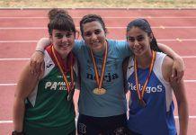 Natalia González, bronce en el Campeonato de España Junior