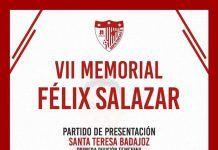 Cartel de la presentación oficial del Santa Teresa Badajoz 2017