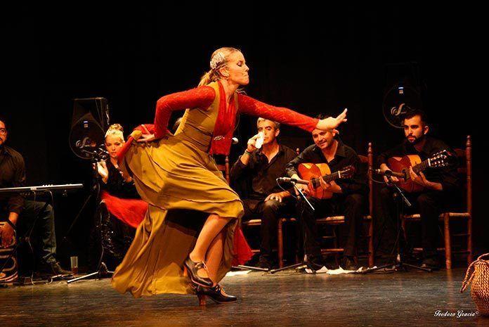 """Manuela Sánchez y su """"Flamenco castúo el sentir de una tierra"""" (foto: Teodoro Gracia)"""