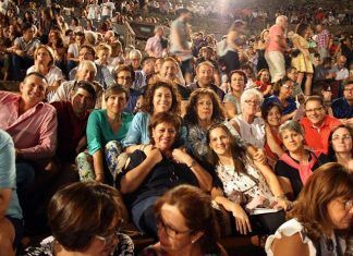 Visita al Festival de Teatro Clásico de Mérida, una de las actividades del Agosto Cultural de Valdelacalzada