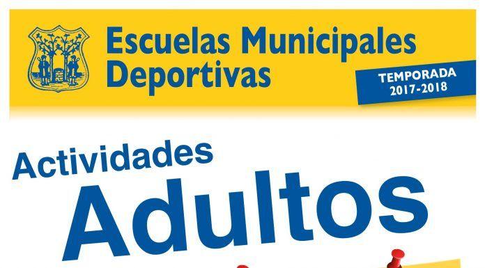 Actividades Adultos Escuelas Municipales Deportivas de Montijo 2017