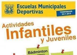 Actividades Infantiles Escuelas Municipales Deportivas de Montijo 2017