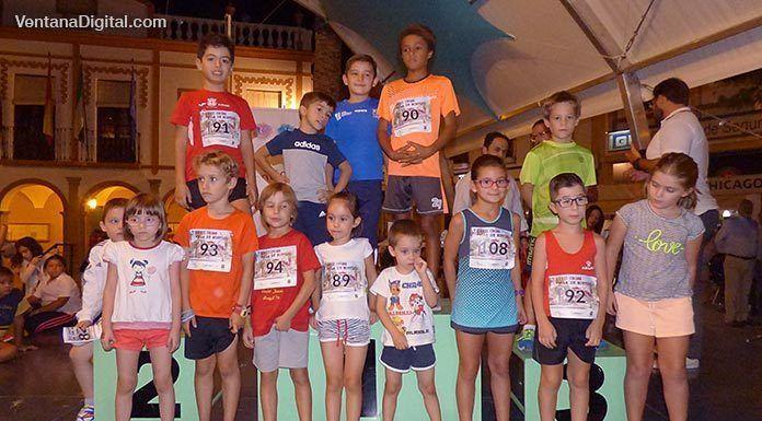 Benjamines participantes en el XXVII Cross Villa de Montijo
