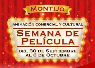 Cartel de la Semana de Película en Montijo