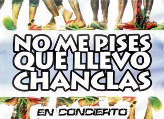 Cartel del concierto de no me pises que llevo chanclas en Guadiana del Caudillo