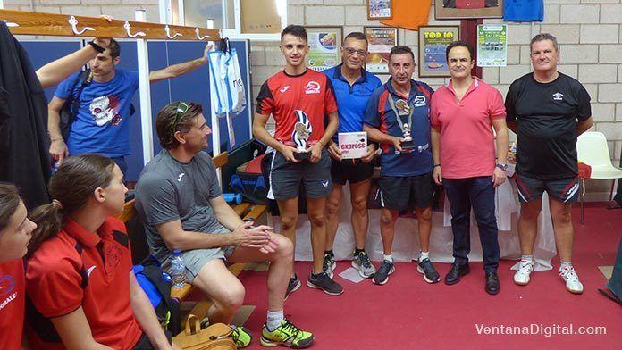 Ganadores del X Torneo de Ferias 2017 del Club Tenis de Mesa Montijo