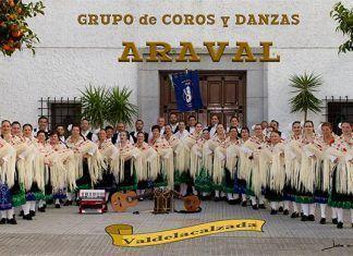 Grupo de coros y danzas Araval, de Valdelacalzada