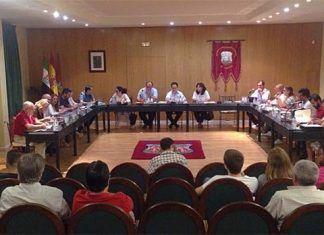 Pleno del Ayuntamiento de Montijo celebrado el 29 de septiembre de 2017