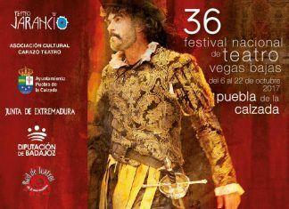 Portada del Programa del Festival Nacional de Teatro Vegas Bajas 2017