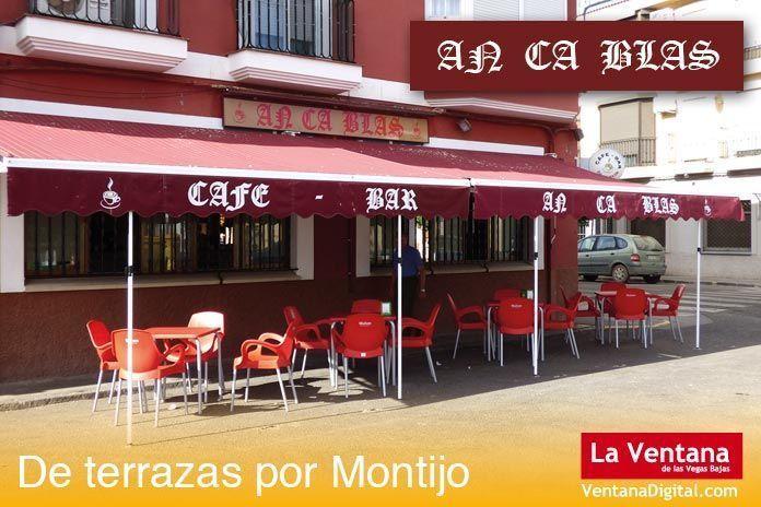 Terraza An Ca Blas, Montijo (Badajoz)