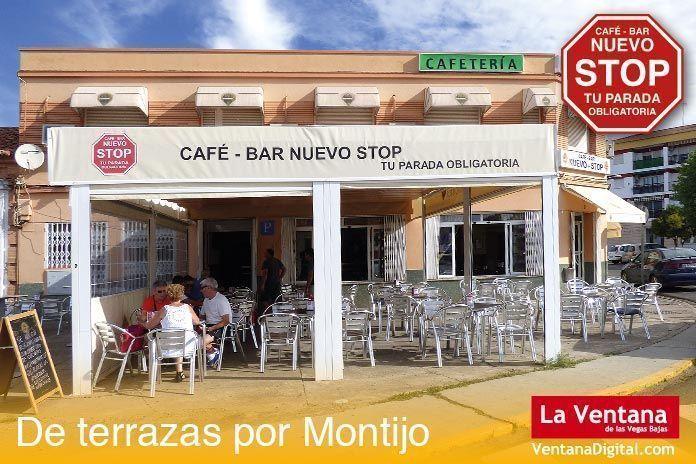 Terraza Café Bar Nuevo Stop, Montijo (Badajoz)