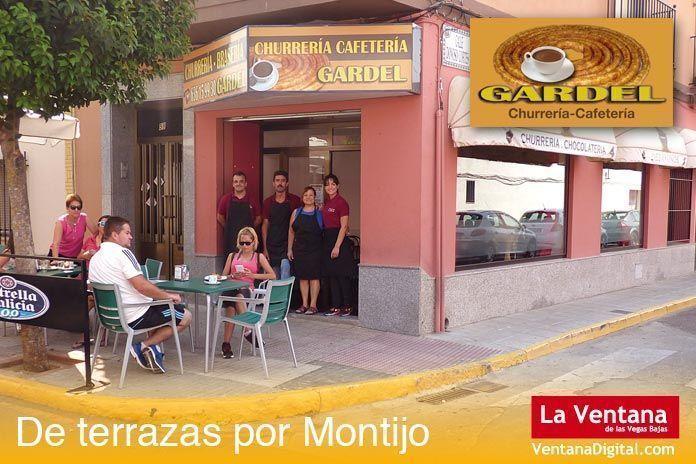 Terraza Churrería Cafetería Gardel, Montijo (Badajoz)