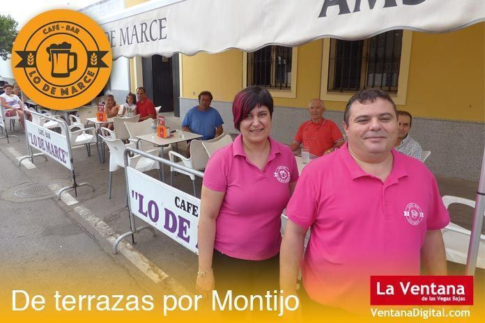 Terraza Lo de Marce, Montijo (Badajoz)