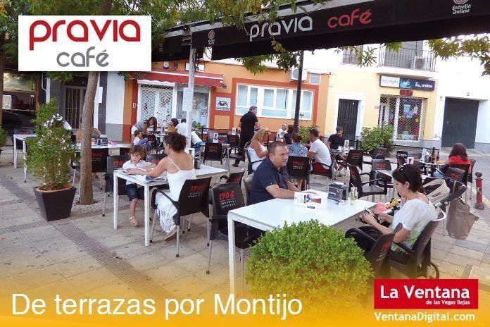 Terraza Pravia Café, Montijo (Badajoz)