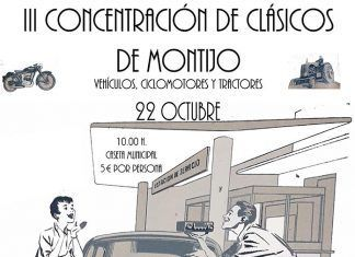 Cartel de la III Concentración de Clásicos en Montijo