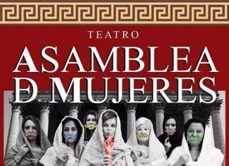 Cartel de la obra de teatro Asamblea de Mujeres