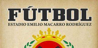 Cartel del partido de fútbol entre la UD Montijo y el Jerez CF